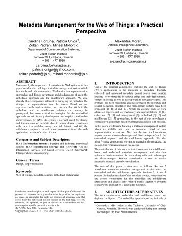 Proceedings Template - WORD - Semantic Web Workshop