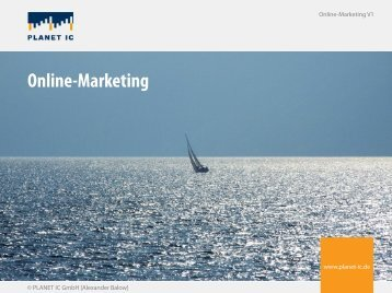 Online-Marketing - PLANET IC