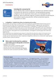 Cartonera, AB 9 Presentación - Planet Schule