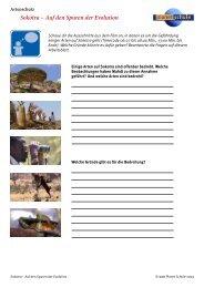 Sokotra - Auf den Spuren der Evolution - Artenschutz - Planet Schule