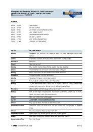 Mumbro & Zinell - ... unterwegs - Dialogliste - Planet Schule