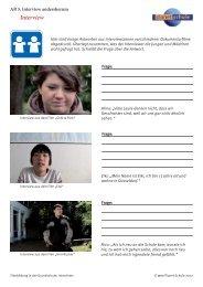 Filmbildung in der Grundschule; Interview; Interview ... - Planet Schule
