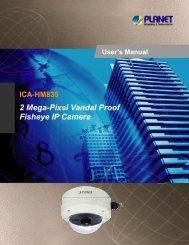 2 Mega-Pixel Vandal Proof Fisheye IP Camera - Danbit Support