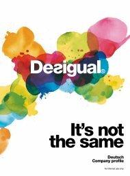 Deutsch Company profile - Desigual