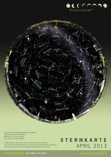 Sternkarte als PDF - Planetarium Hamburg