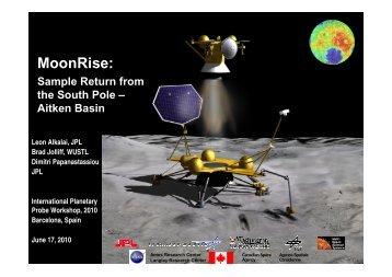 MoonRise: - International Planetary Probe Workshop