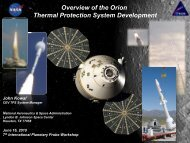 Overview of the Orion Thermal Protection System Development