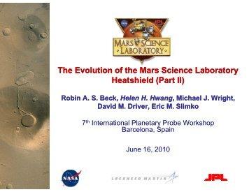 Presentation 406 - International Planetary Probe Workshop