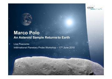 Presentation 360 - International Planetary Probe Workshop