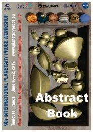Abstracts - Solar System Exploration - NASA