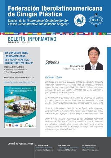 Boletín Nº 44, Mayo del 2011 Boletín Informativo Gestión 2010