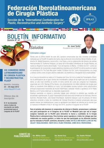 Boletín Nº 47, Diciembre del 2011 Boletín Informativo Gestión 2010