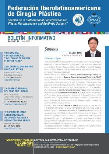 Boletín Nº 45, Julio del 2011 Boletín Informativo Gestión 2010