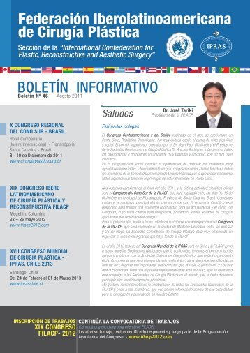 Boletín Nº 46, Agosto del 2011 Boletín Informativo Gestión 2010