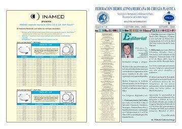 Boletín Nº 36, Octubre del 2006 Boletín Informativo Gestión 2006