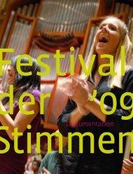 Dokumentation - Festival der Stimmen