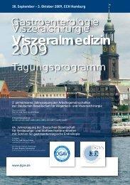 Viszeralmedizin - Deutsche Gesellschaft für Allgemein