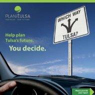 Which Way, Tulsa? - PLANiTULSA