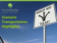 Download a PDF of the Transportation Highlights ... - PLANiTULSA