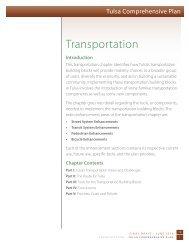 transportation - PLANiTULSA