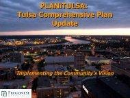 Tulsa Comprehensive Plan Update - PLANiTULSA