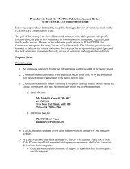 Procedures to Guide the TMAPC's Public Hearings ... - PLANiTULSA