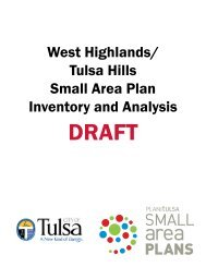 DRAFT Inventory and Analysis of Existing Conditions - PLANiTULSA