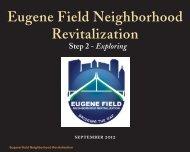 Eugene Field Neighborhood Revitalization - PLANiTULSA