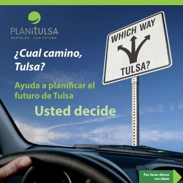 Usted decide - PLANiTULSA