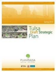 Download the Draft PLANiTULSA Strategic Plan