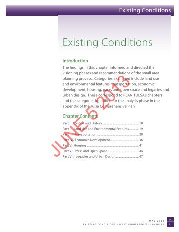 Existing Conditions - PLANiTULSA
