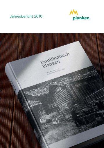 Jahresbericht 2010 - Gemeinde Planken