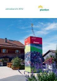 Jahresbericht 2012 - Gemeinde Planken