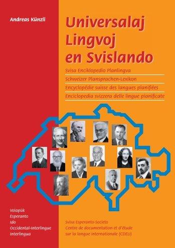 Kovrilo de la libro / Couverture du livre - Plansprachen.ch