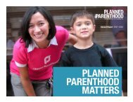 Planned Parenthood Matters