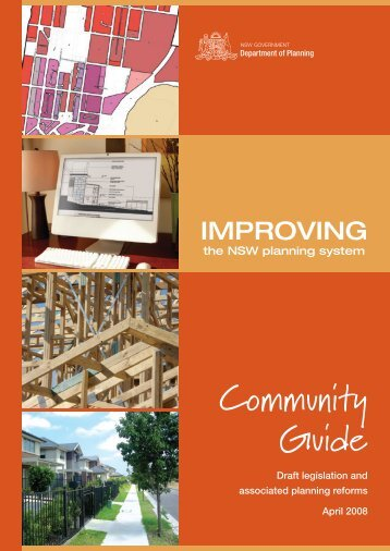 Community Guide - Department of Planning - NSW Government