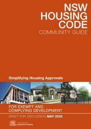 NSW Housing Code - Community Guide - Department of Planning ...