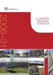 Illawarra Regional Strategy - Department of Planning - NSW ...