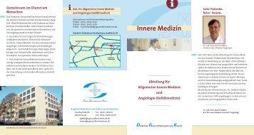 Abteilung für Allgemeine Innere Medizin und Angiologie