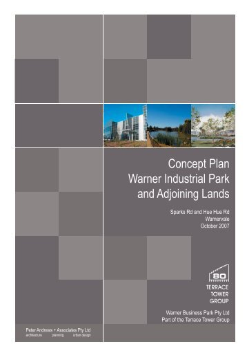 Concept Plan Warner Industrial Park and Adjoining Lands