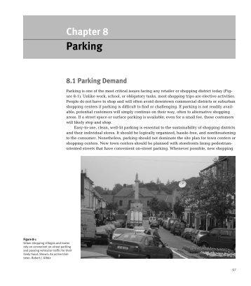 Read an excerpt from Gibbs bookon Parking here. - Congress for ...
