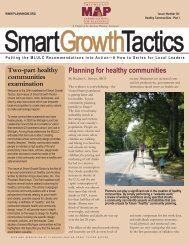Issue 30: Healthy Communities Part I - Michigan Society of Planning