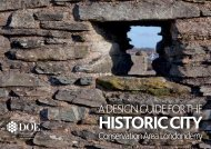 A Design Guide for the Historic City Conservation Area Londonderry