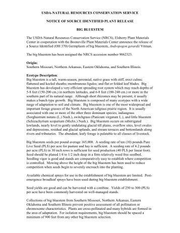 USDA-NATURAL RESOURCES CONSERVATION SERVICE ...