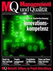 MQ Werkstatt: Software zur Projekt-Unterstützung - PLANTA ...