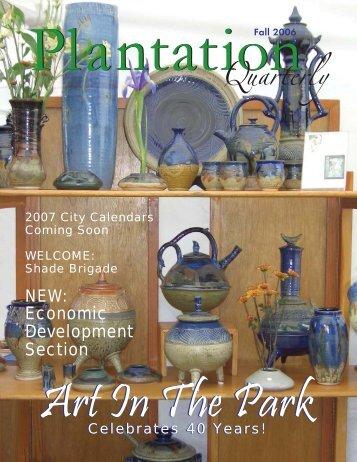 Fall 2006 - City of Plantation
