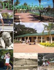 Spring 2007 - City of Plantation