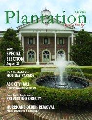 pq fall pdf pages.qxp - City of Plantation