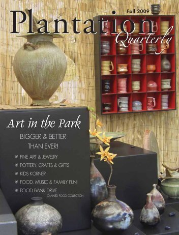 Art in the Park Art in the Park - City of Plantation