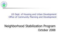 Neighborhood Stabilization Program - City of Plantation